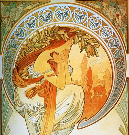 Alphonse Mucha - The Arts - Poetry - Copy2