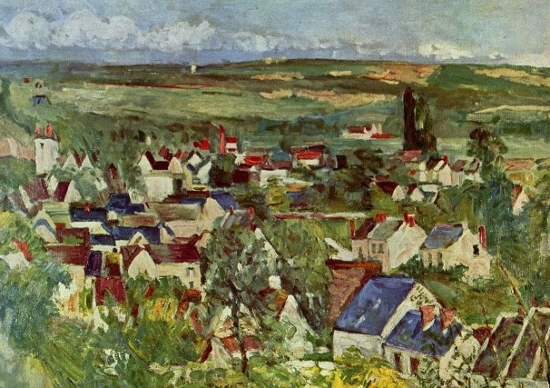 Paul Cézanne - Vue d'Auvers