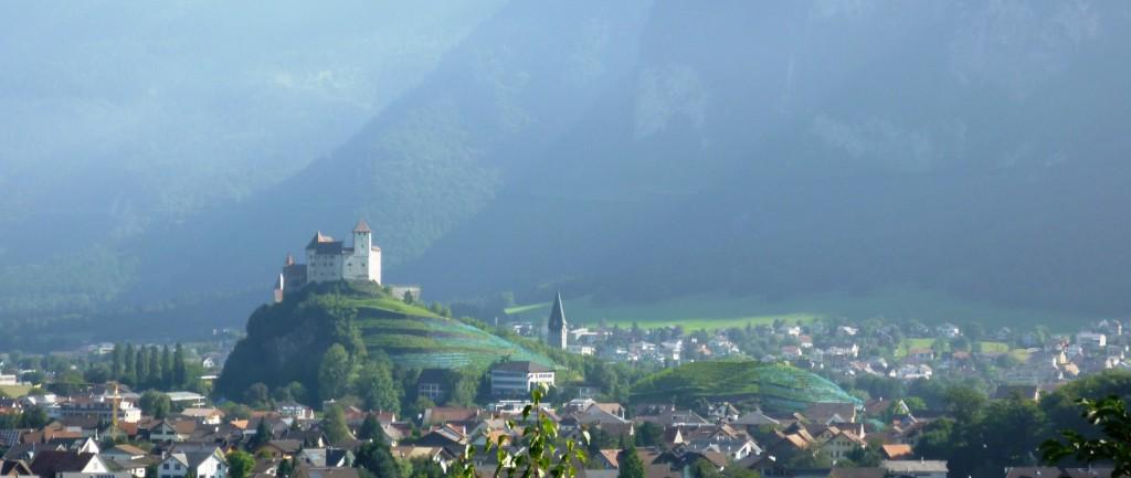 ST9191 Burg Gutenberg, Balzers, Liechtenstein